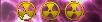 Pink Senate War Nuclear Magnet 3